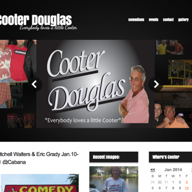 image of the cooter douglas website