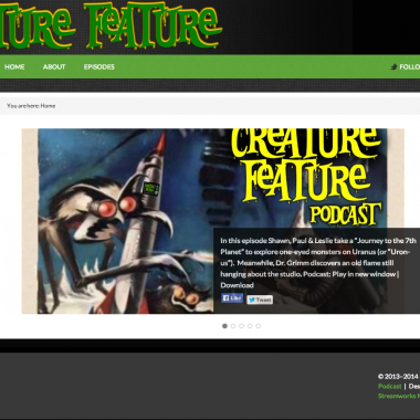 Creature Feature – Podcast devoted to monster films