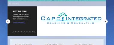 New website created for Capo Integrated