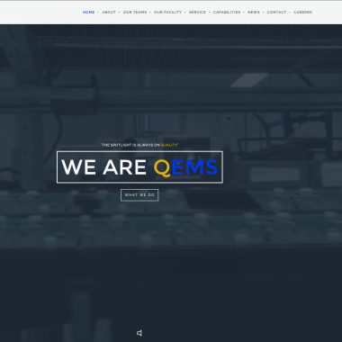 image of QEMS Website