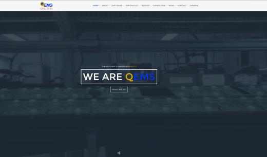 image of QEMS Website
