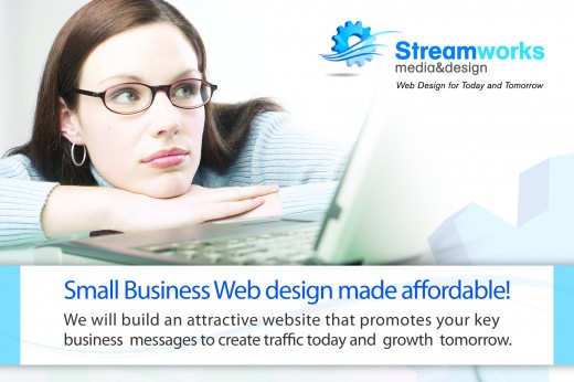 Small Business Web design made affordable image